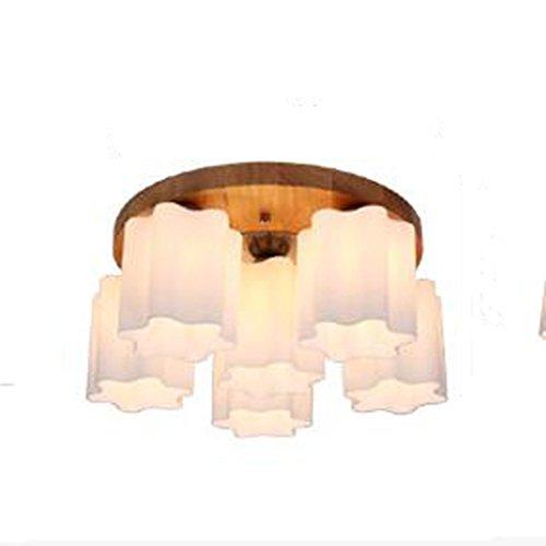Lampara colgante LED lampara de techo de madera mesa de comedor lampara colgante lampara de techo retro lampara colgante mesa de comedor para oficina comedor sala de estar dormitorio cafe