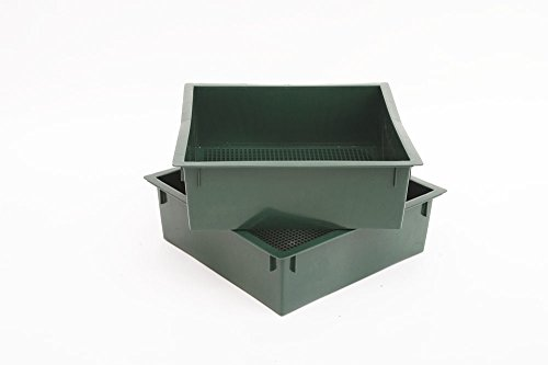 Worm Factory Additional Composting Bin Trays Green (Pack of 2)