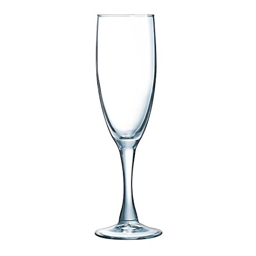 Arcoroc 71086 Excalibur 5 3/4 Oz. Flute Glass - 36 / CS by ARC Cardinal