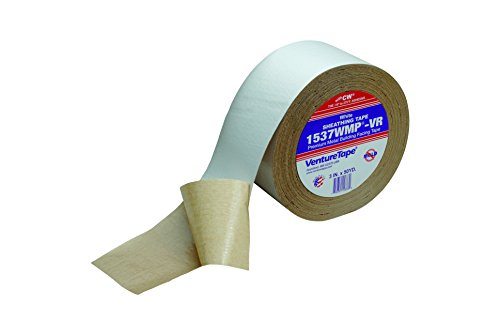 3M Venture Tape Metal Building Facing Tape 1537CW White, 72 mm x 45.7 m (Pack of 16) by Venture Tape