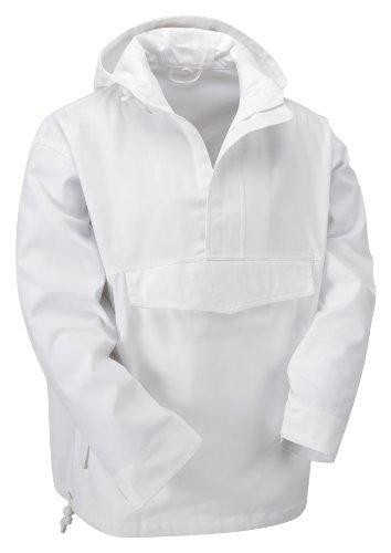 para hombre impermeable Chaqueta Unbekannt Blanco gw6qEYxnS