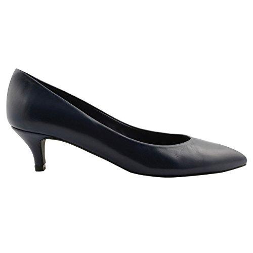 Exclusif Bleu Marine Chaussures Lolita Paris Talons à H5XrwHqY