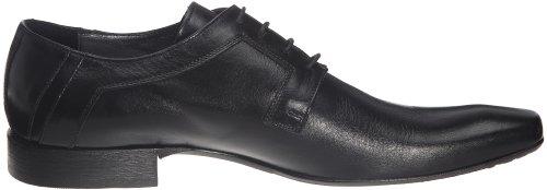 Azzaro - Zapatos de cuero para hombre Negro