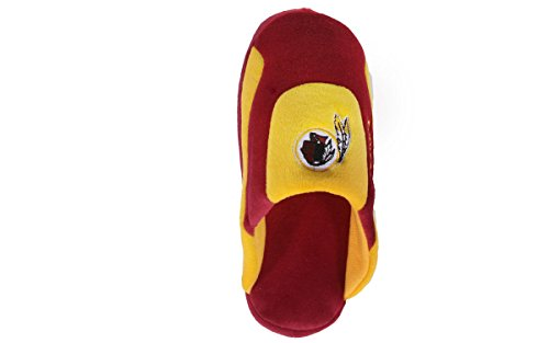 OFFICIALLY LICENSED Pro Comfy Low Mens Slippers Feet NFL and Washington Womens Pro Happy Low Feet Redskins qtIwIZT