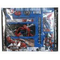 Marvel Spider Man Stationery - Spiderman Stationery Set - Marvel Spider-man School Supplies 15pcs value box