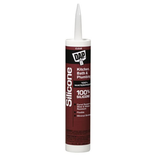 Dap Bathtub Silicone Sealant (Clear, 9.8 oz)