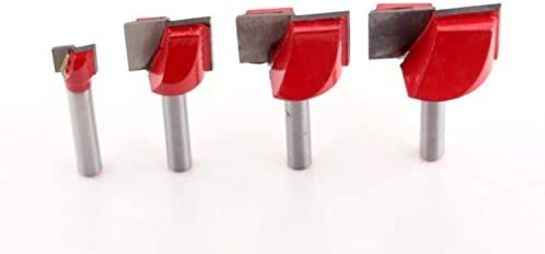 GENERICS LSB-Werkzeuge, 1 stück CNC hartmetall-schaftfräser Werkzeug 3D holzbearbeitung fräser Wolfram Reinigung bodenfräser holzbearbeitungsfräser (Dimensions : 6mmx25mm)