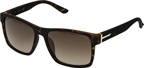 GUESS Unisex GF5049 Dark Havana/Gradient Brown One Size