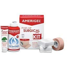 Amerigel Wound Dressing - AmeriGel Post-Op Surgical Kit with Flex Tape