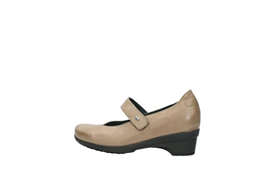 Shoes Wolky Virginia Leather Court Comfort 80150 Taupe EwnqqA7T8f