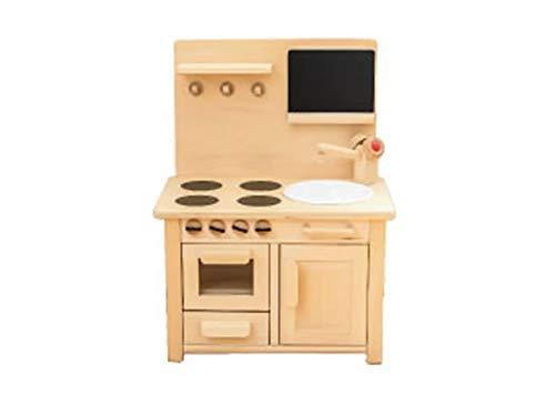 木のおもちゃ おままごとキッチン ままごとキッチン 木製 ミニキッチン ままごと キッチン ままごと   B07SVZVQ22