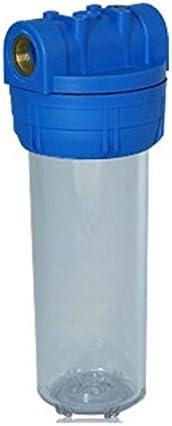 Planet-Aqua Filtergeh/äuse Set 10 Zoll 1 Zoll Anschlu/ß Vorfilter Geh/äuse Wasserfilter Filter Anlage Hauswasserwerk Brunnen Wandhalterung Filter schl/üssel