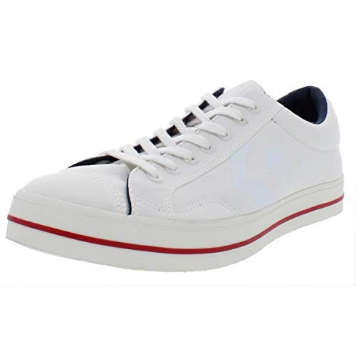 Converse Mens Star Player FS Ox Low Top Fashion Sneakers White 10 Medium (D)
