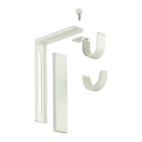 Ikea Home Indoor Wall/ceiling bracket - Curtain Mount Bracket Wall
