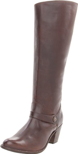 FRYE Women's Jackie Button Short Boot, Dark Brown, 9.5 M (Womens Jackie Button Boot)