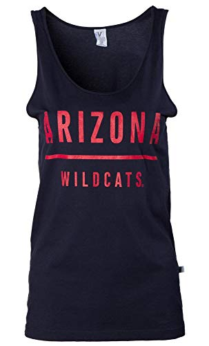 - Official NCAA Venley University of Arizona Wildcats U of A Wilber Wildcat BEAR DOWN! Women's Oversized Boyfriend Tank