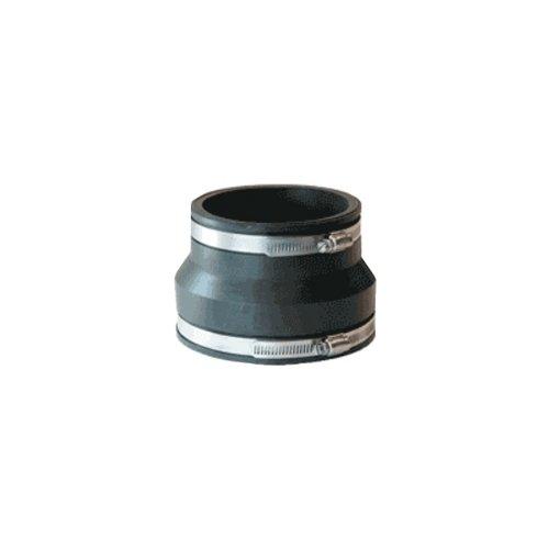 Mission Rubber 105686 MR56 86 Flex-Seal Coupling, 8-Inch Plastic/Cast-Iron to 6-Inch Plastic/Cast-Iron