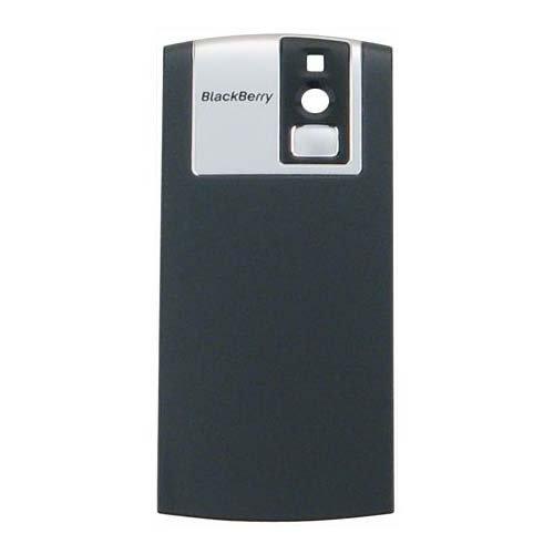 BlackBerry 8100 Pearl Replacement Standard Battery Door - Original OEM ASY-11502-002 - Non-Retail Packaging - Dark Grey
