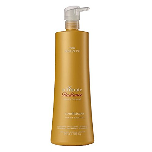 Ultimate Radiance Conditioner, 32.5 oz - Regis DESIGNLINE - Instantly Detangles, Heals, and Conditions Hair (Regis Designline Ultimate Radiance Leave In Conditioning Styler)