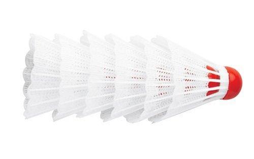 Halex Shuttlecocks, White (6-pack)
