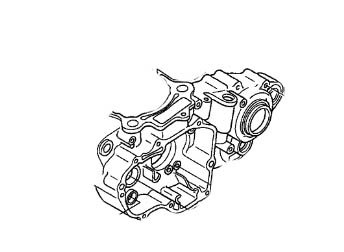 HONDA 11200-HP1-600 CRANKCASE, L. by Honda