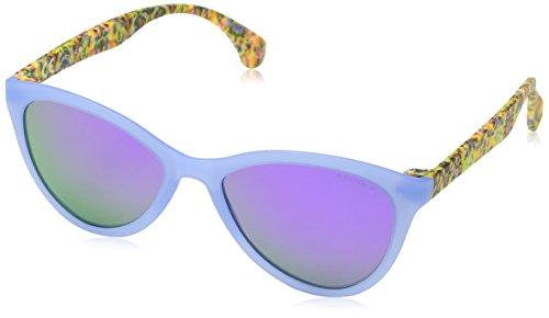 Gafas Semi Transp Morado Mujer de Police Matt Azure Sol para 4pqdRRnwH