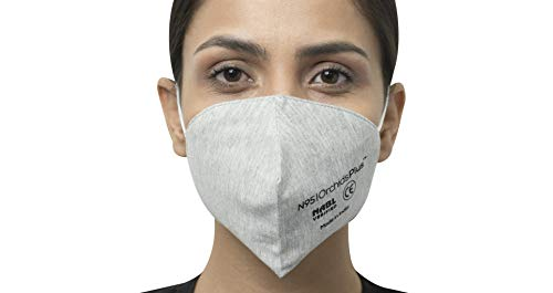 OrchidsPlus N-95 Face Mask | 3 Layer (2 Layer 100% Cotton, 1 Layer Melt Blown Filter) | Reusable | High Filtration…
