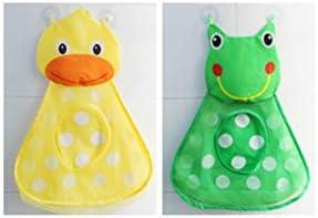 Pato BESTOMZ Cartoon Bathtub Toy Storage Bag Bolsa de Malla Ba/ño Toy Organizador Holder Organizador de ba/ño