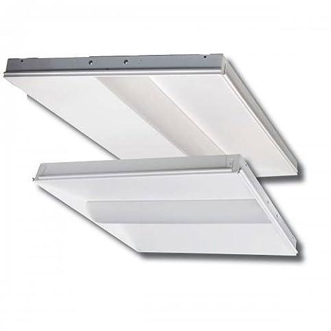 Cost Less Lighting 2x4 LED Center Basket Grid Ceiling Light 52 Watt ...