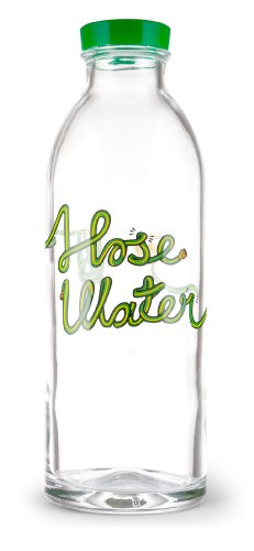 faucet face glass water bottle - 2