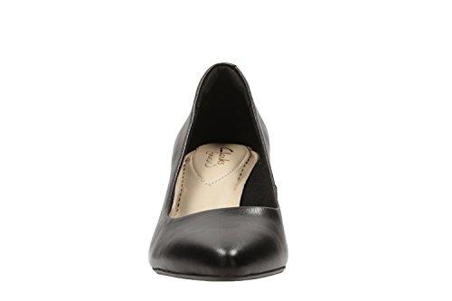 Femme Faye Isidora Leather Schwarz Clarks Escarpins w80YOq8t