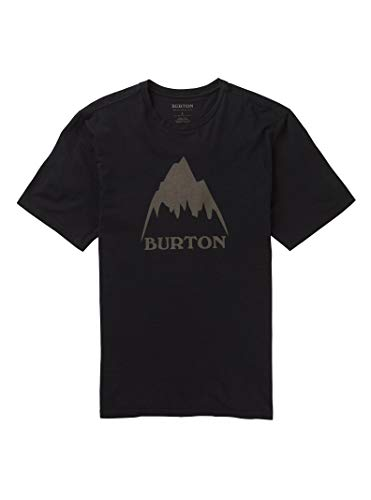(Burton Men's Classic MTN High Short Sleeve Tee, True Black W20, Medium)