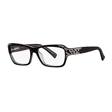 0ccd3a3497fa Caviar 6171 Eyeglasses Frames Black (C24) Crystal Stones New