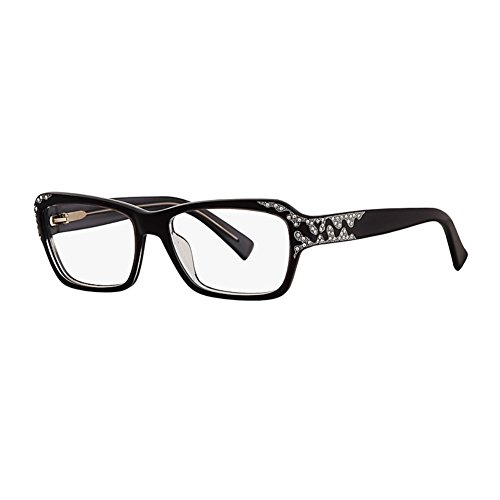 Caviar 6171 Eyeglasses Frames Black (C24) Crystal Stones New