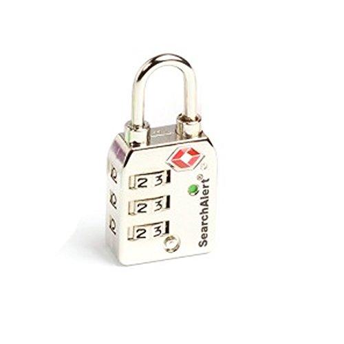 Sesamee Travel Lock SearchAlert 747 Series Padlocks (NICKEL)