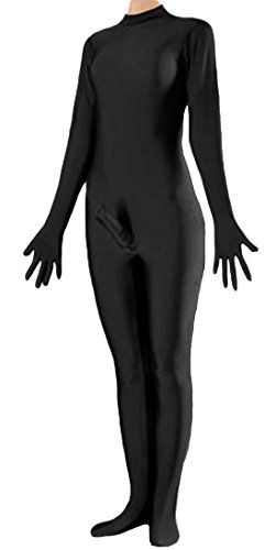 [Marvoll Unisex Lycra Fullbody Penis Costume Without Hood for Kids and Adults (Large, Black)] (Holloween Costumes Designs)