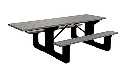 Amazoncom Colossus Wheelchair Accessible Picnic Table - Wheelchair picnic table