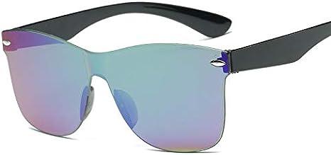 SQYJING Gafas de Sol para Adultos Espejo Gafas de Sol Mujer Moda ...
