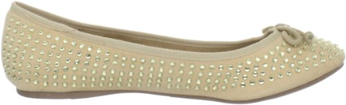 Womens Wanted Ballerina Wanted Rupture Shoes Shoes Womens Gold Flat xpx1wqIf