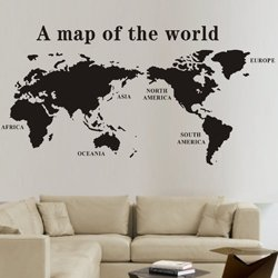 Size 1350 mm x 700 mm large pvc world map wallpaper wall prints size 1350 mm x 700 mm large pvc world map wallpaper wall prints vintage brick gumiabroncs Gallery
