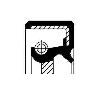 Corteco 19036250B Wellendichtring, Differential
