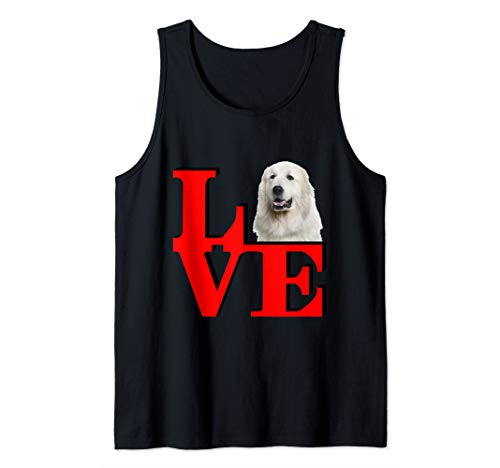 My Great Pyrenees Love Park  Tank Top