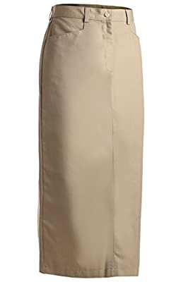 "Edwards Garment Women's 35"" Length Chino Skirt"