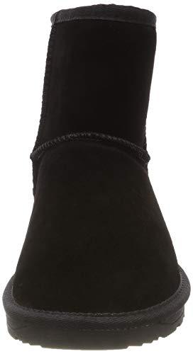 Luna Esprit black 001 Donna Stivali Arricciati Nero Bootie B71wqp7U