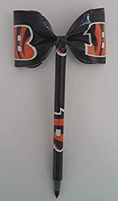 Cincinnati Bengals NFL Duct Tape Bow Pen