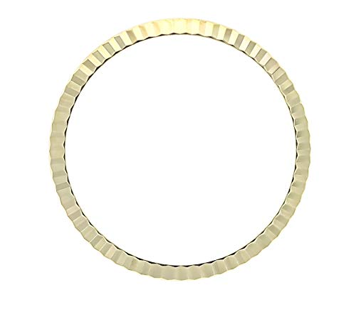 - Fluted Bezel for Rolex Watch Lady 26MM DATEJUST 6517 69173 69273 18KY Gold