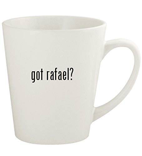 got rafael? - 12oz Ceramic Latte Coffee Mug Cup, White