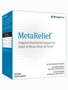 Metagenics - Metarelief, 30 Count