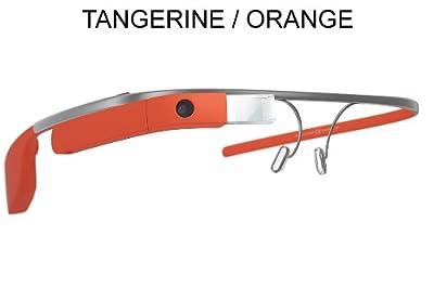 Google Glass XE V2 | Reading Glass Frame (4 Options) (Tangerine Orange)