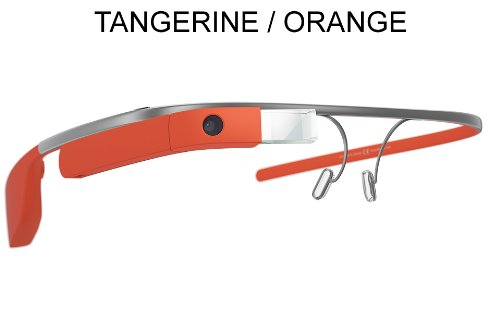 Google Glass XE V2 | Reading Glass Frame (4 Options) (Tangerine Orange)